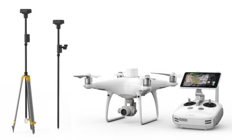3DSI Drone DJI Phantom 4 Rtk