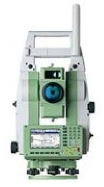 3DSI Station Totale Robotisée Leica 1201+R1000